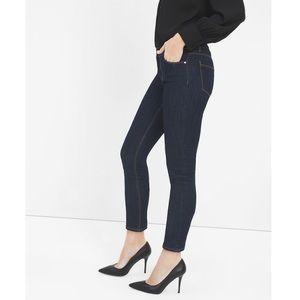 WHBM • Dark wash Skimmer skinny jeans